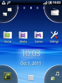 Sony Ericsson X10 Mini Pro Rasa Gingerbread